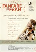 Fanfare for Fran - click to download poster